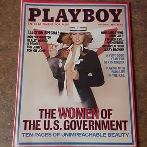 Other - Vintage 1980 Playboy The Women Of The U.S. Governm